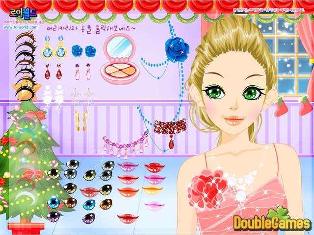 Free Download Christmas Make Up Screenshot 1