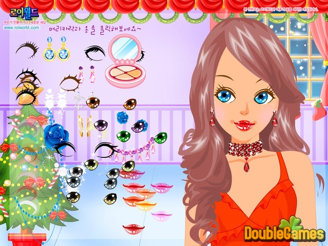 Free Download Christmas Make Up Screenshot 3