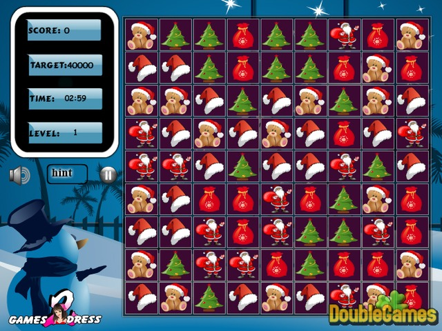 Free Download Christmas Swap Puzzle Screenshot 1