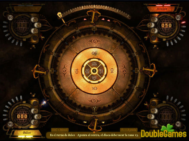Free Download Clockwork Crokinole Screenshot 1
