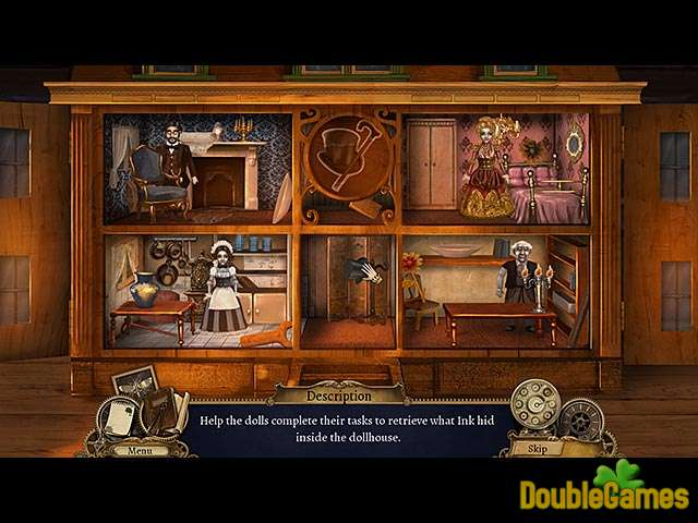 Screenshot descargo de Clockwork Tales: Of Glass and Ink 3