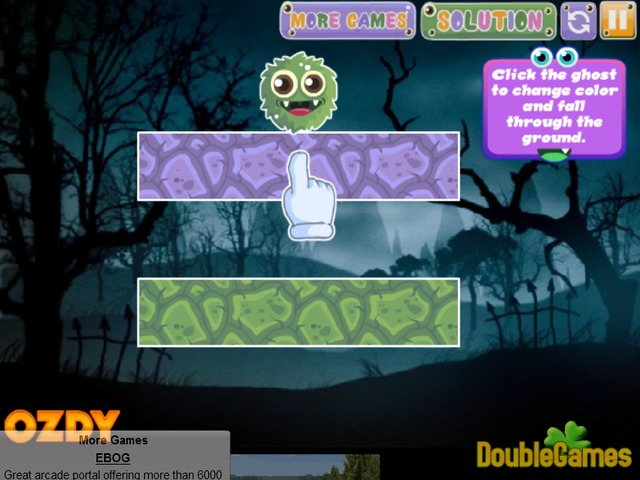 Free Download Colorful Ghosts Screenshot 1