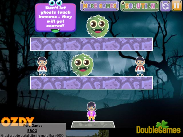 Free Download Colorful Ghosts Screenshot 2
