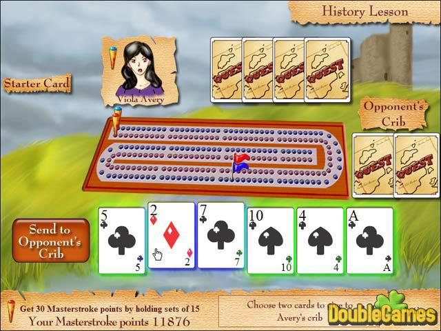 Free Download Cribbage Quest Screenshot 1