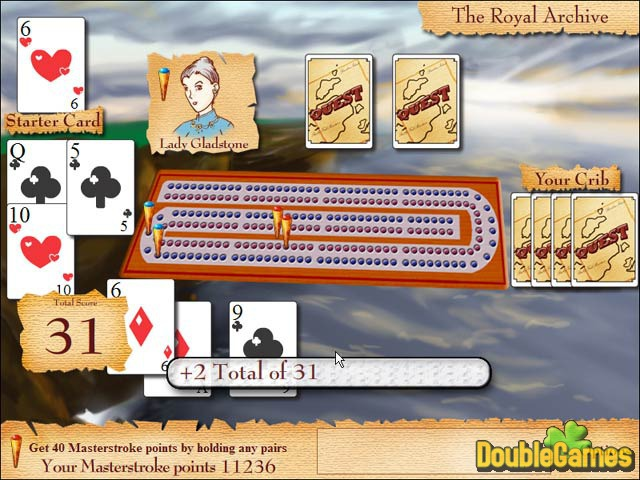 Free Download Cribbage Quest Screenshot 3