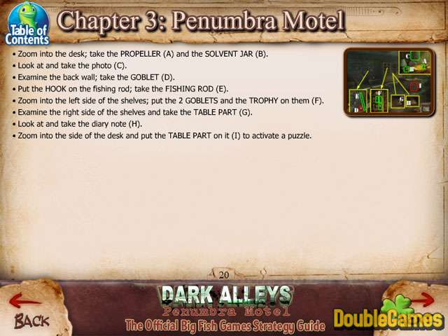 Free Download Dark Alleys: Penumbra Motel Strategy Guide Screenshot 1
