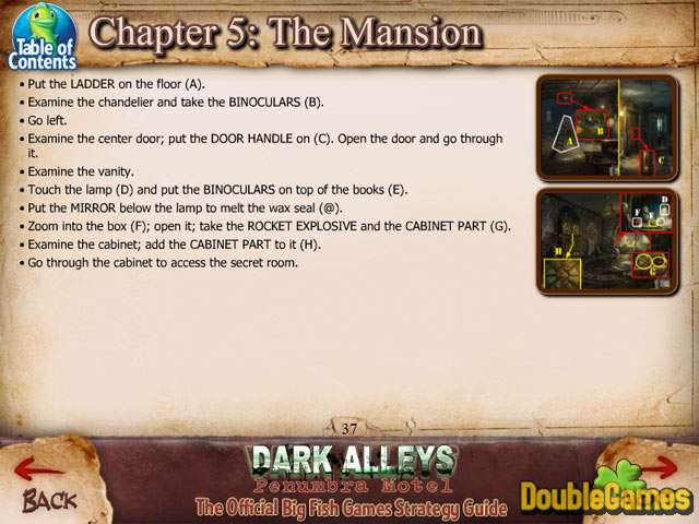 Free Download Dark Alleys: Penumbra Motel Strategy Guide Screenshot 2