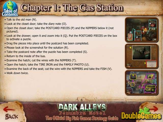 Free Download Dark Alleys: Penumbra Motel Strategy Guide Screenshot 3
