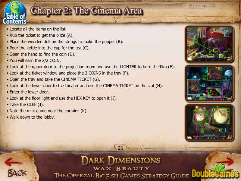 Free Download Dark Dimensions: Wax Beauty Strategy Guide Screenshot 2