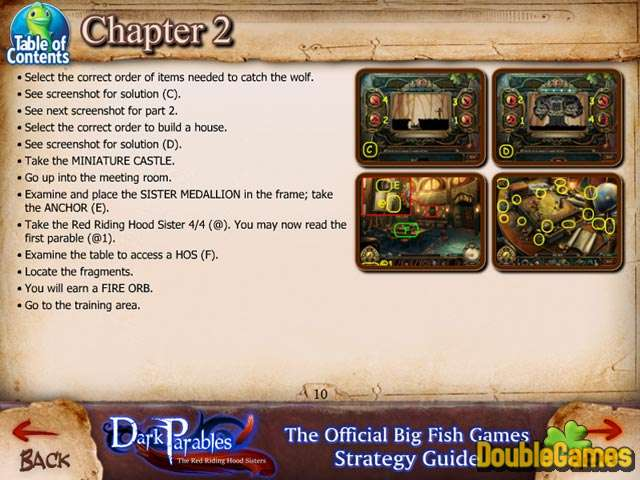 Screenshot descargo de Dark Parables: The Red Riding Hood Sisters Strategy Guide 2