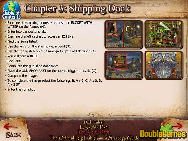 Screenshot descargo de Dark Tales: Edgar Allan Poe's The Gold Bug Strategy Guide 3