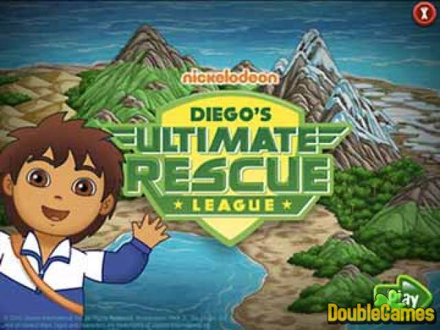 Free Download Go Diego Go Ultimate Rescue League Screenshot 1