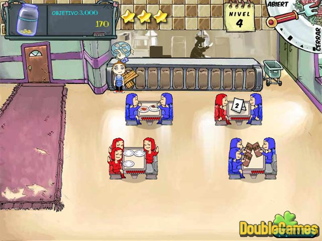 Free Download Diner Dash Screenshot 1