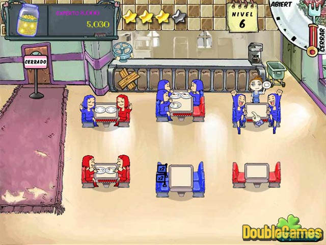 Free Download Diner Dash Screenshot 2