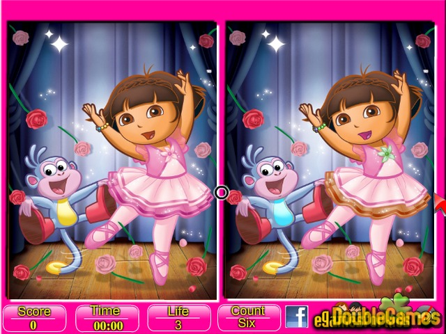 Free Download Dora Six Differences Screenshot 3