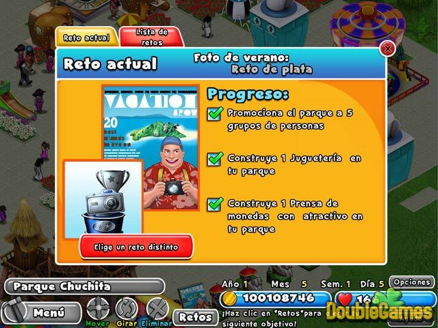 Free Download Dream Builder: Parque de Atracciones Screenshot 1
