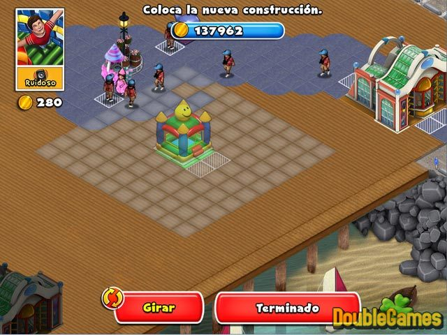 Free Download Dream Builder: Parque de Atracciones Screenshot 2