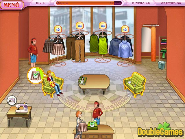 Free Download Dress Up Rush Screenshot 1