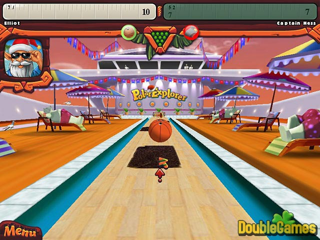 Free Download Elf Bowling: Hawaiian Vacation Screenshot 3