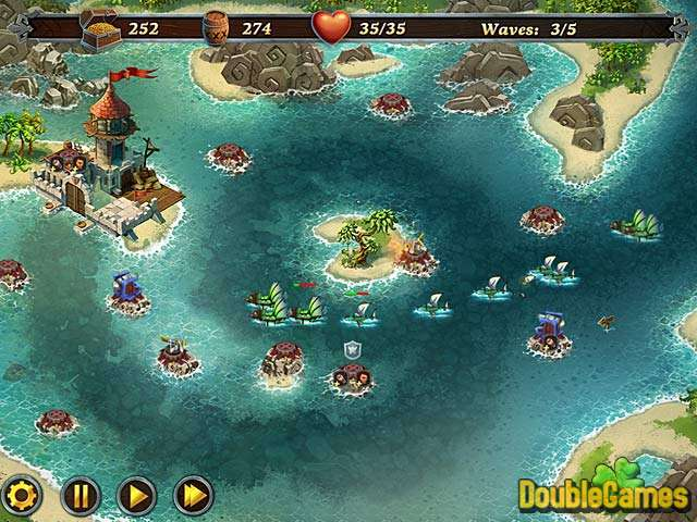 Screenshot descargo de Fort Defense 1