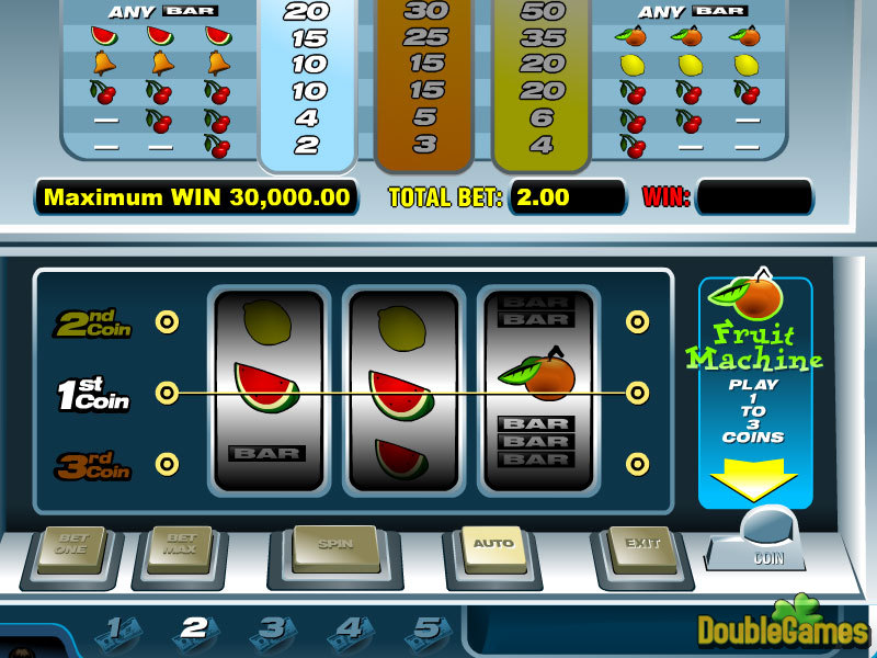 Screenshot descargo de Fruit machine 1