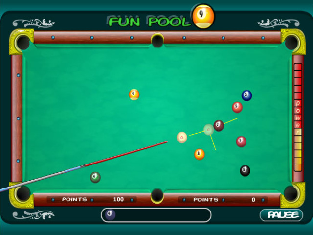 Free Download Fun Pool 9 Screenshot 3