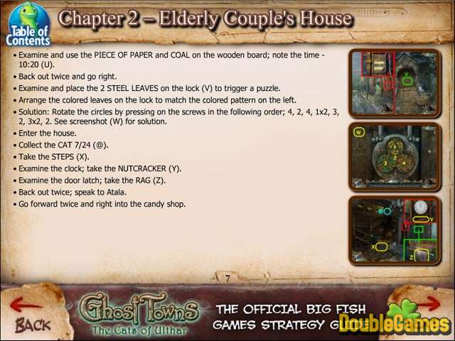 Screenshot descargo de Ghost Towns: The Cats of Ulthar Strategy Guide 2