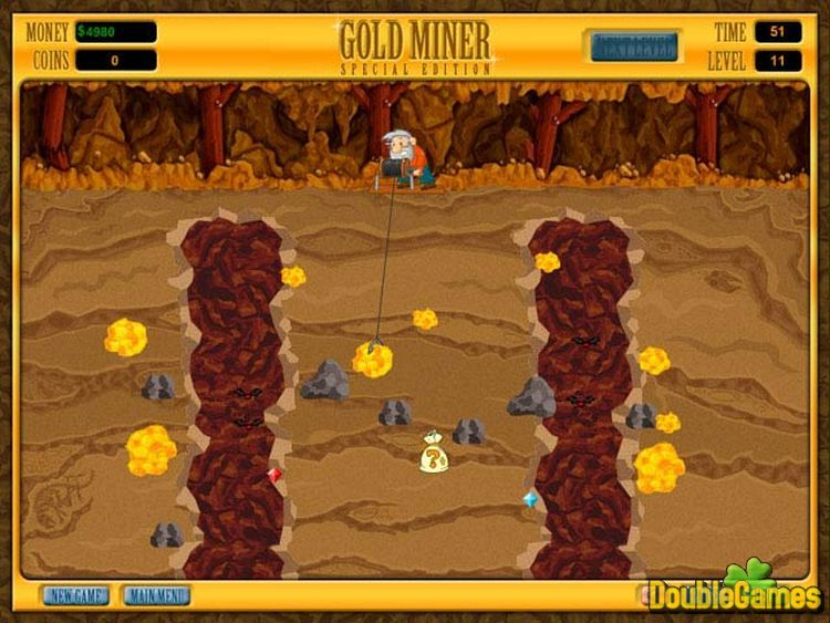 Screenshot descargo de Gold Miner Special Edition 2