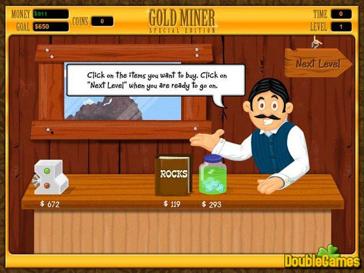 Screenshot descargo de Gold Miner Special Edition 3