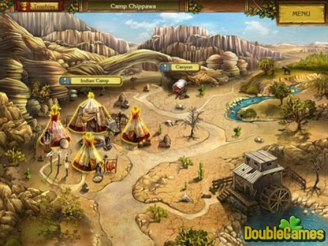 Free Download Golden Trails: The New Western Rush Screenshot 2