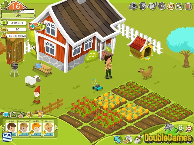 Screenshot descargo de Goodgame Farmer 1