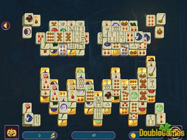 Screenshot descargo de Halloween Night Mahjong 2