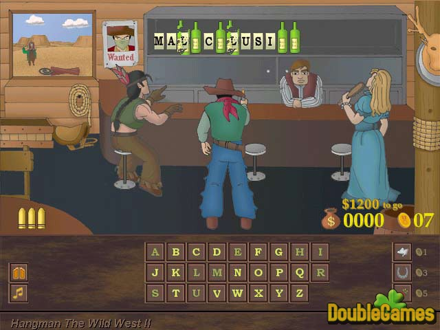 Screenshot descargo de Hang Man Wild West 2 1