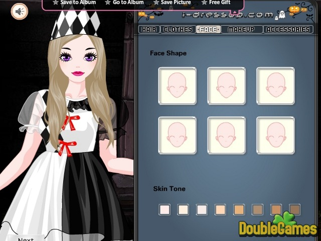 Free Download Happy Halloween: Girl Costumes Screenshot 1
