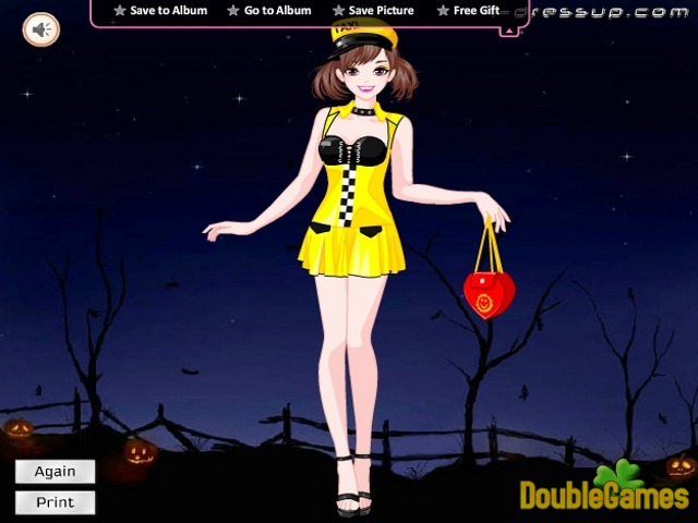 Free Download Happy Halloween: Girl Costumes Screenshot 3