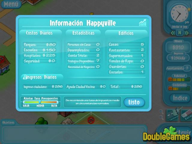 Free Download Happyville:  La carrera hacia Utopía Screenshot 2