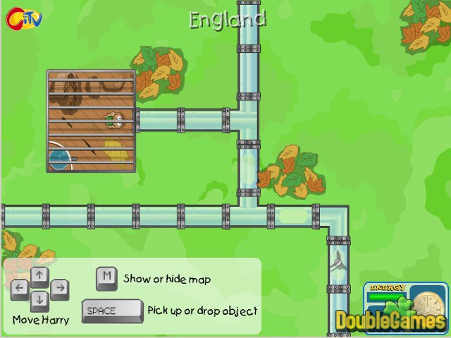 Free Download Harry the Hamster 2: The Quest for the Golden Wheel Screenshot 1