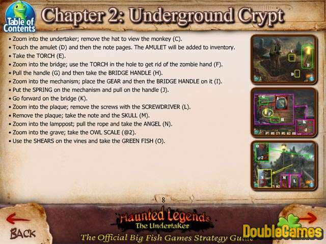 Free Download Haunted Legends: The Undertaker Strategy Guide Screenshot 1