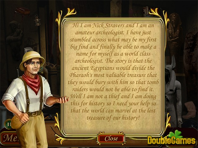 Free Download Hidden Treasures: Egypt Tombs Screenshot 1
