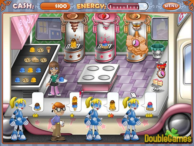 Free Download Ice Cream Craze: Tycoon Takeover Screenshot 1