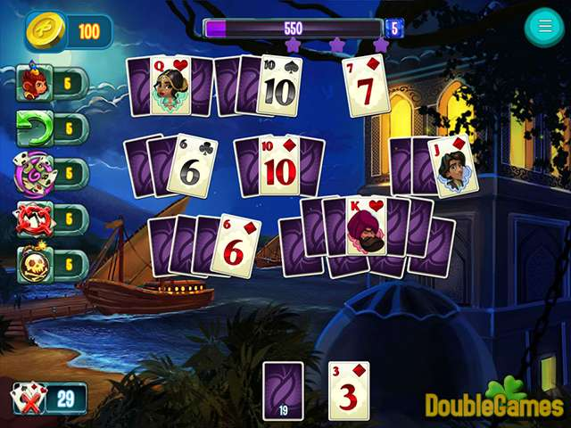 Free Download Indian Legends Solitaire Screenshot 1