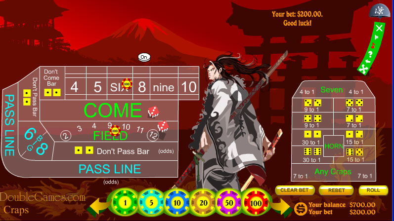 Screenshot descargo de Japanese Craps 3