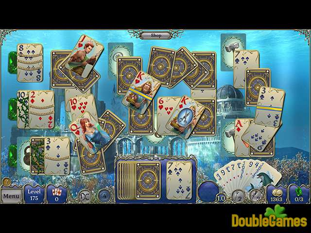 Free Download Jewel Match Solitaire: Atlantis Collector's Edition Screenshot 1