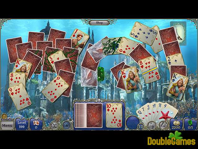 Free Download Jewel Match Solitaire Atlantis Screenshot 2