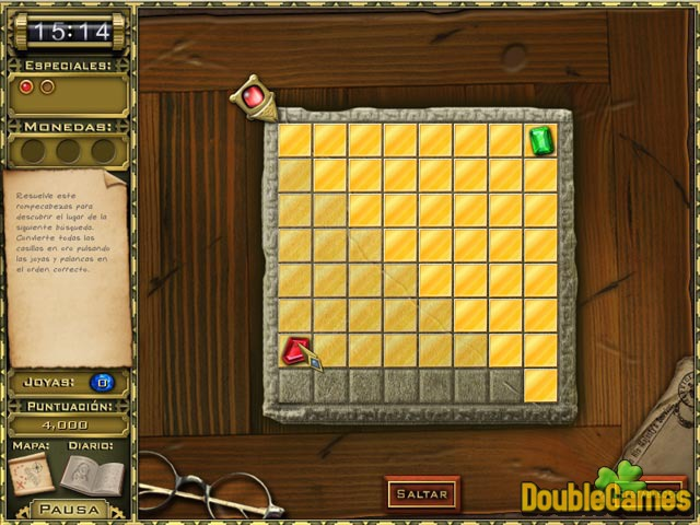 Free Download Jewel Quest Mysteries: Curse of the Emerald Tear Screenshot 2