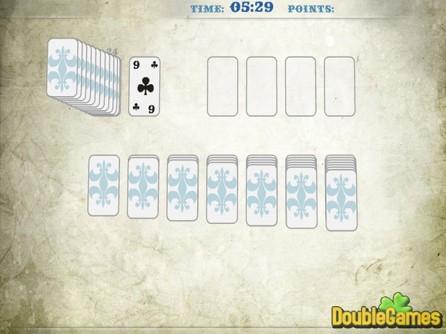 Screenshot descargo de Klondike Solitaire 2