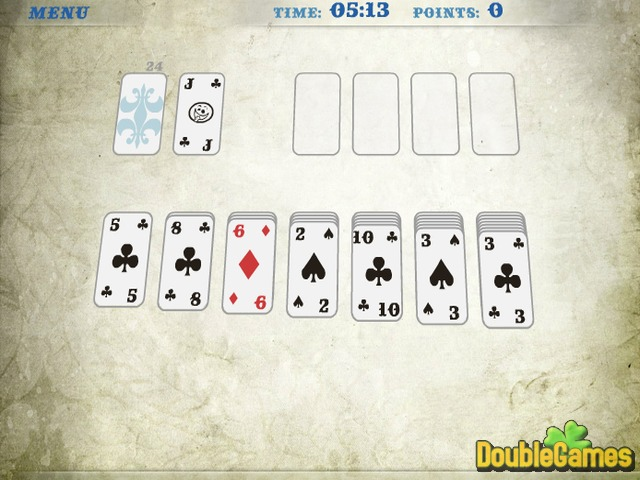 Screenshot descargo de Klondike Solitaire 3