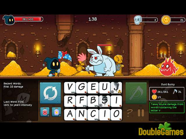 Screenshot descargo de Letter Quest: Remastered 1
