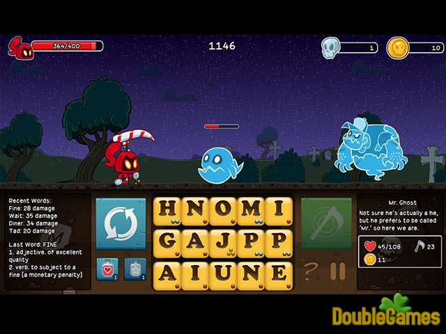 Screenshot descargo de Letter Quest: Remastered 2