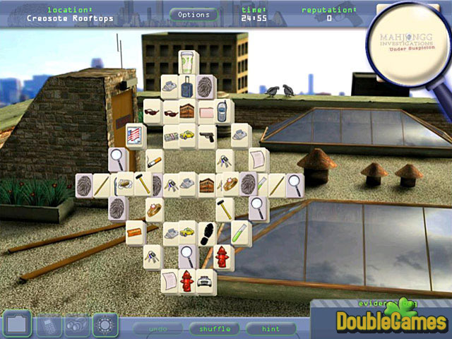 Free Download Mahjongg Investigations: Under Suspicion Screenshot 1